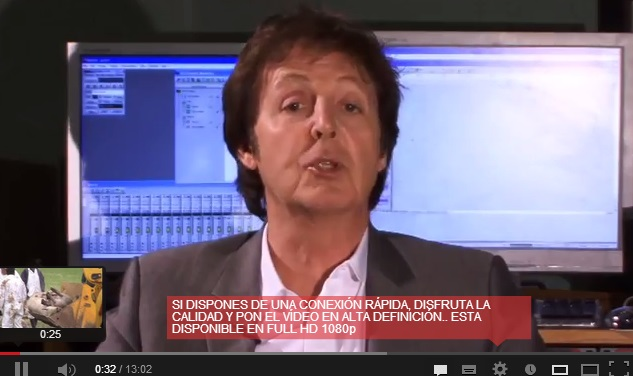 ¿Por qué Paul McCartney es vegetariano?