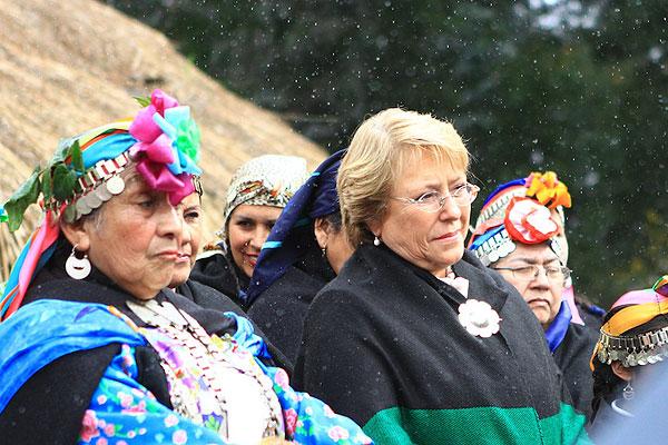 Bachelet asegura que revisará ley sobre transgénicos