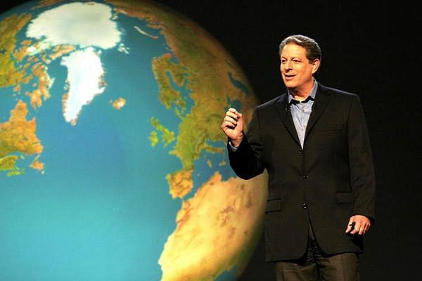 """""""Una Verdad Incómoda"""" sobre el calentamiento global, de Al Gore"""