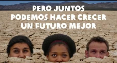 """Campaña """"CRECE"""": ideas y acciones para cambiar el sistema alimentario mundial"""