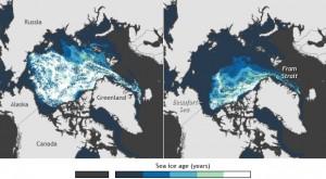 Hielo del Ártico, 1987-2013: impresionante video de NOAA