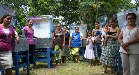 Mujeres nicaragüenses ganan Energy Globe World 2013