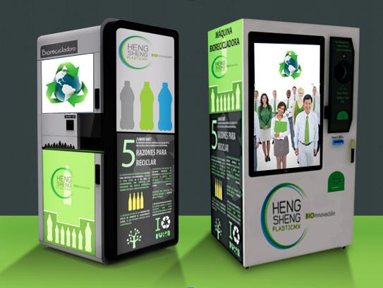 Pagar el pasaje del metro con una botella o lata de - Maquina de reciclaje de plastico ...