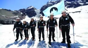 Greenpeace 'funda' un nuevo país: República Glaciar en A. Latina