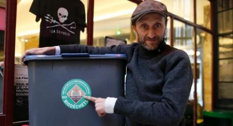 Restaurantes parisinos reciclan desechos orgánicos para hacer biogás