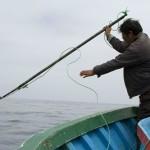 Arponeros peruanos de delfines.