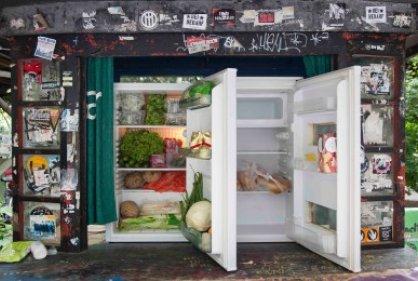 Refrigeradores públicos, la última iniciativa para no perder alimentos