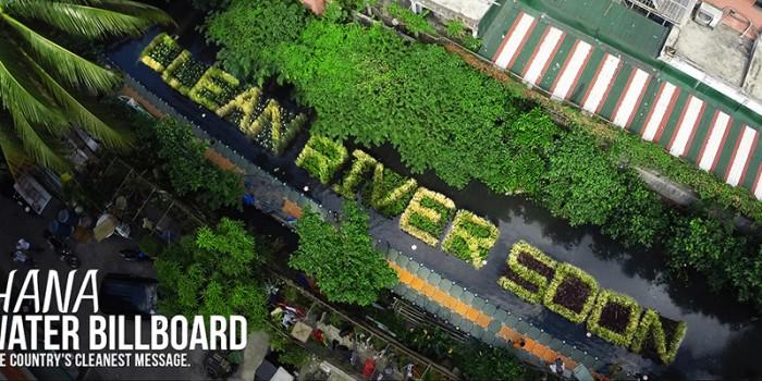 """La publicidad """"viva"""" que podría salvar un río moribundo en Filipinas"""