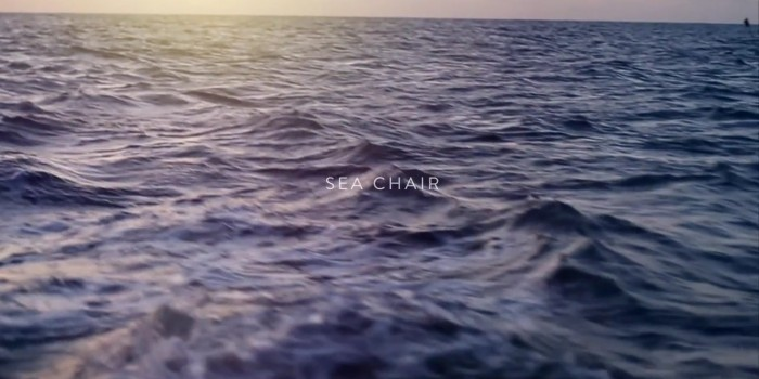 Silla de Mar: fabricada a bordo y con desechos plásticos