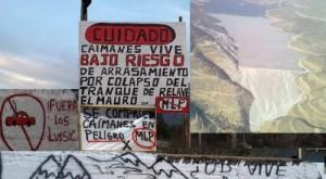 Triunfo de comunidad de Caimanes contra minera Los Pelambres