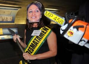Con esta foto circuló la petición a Dilma Rousseff para que no la nombrara ministra.