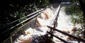 2014 trajo crecidas de río en África y Sudámerica.