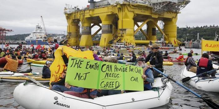 Shell otra vez pone en<br/> peligro inminente el Ártico
