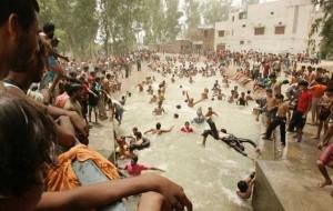 En India llegaron a temperaturas de 45°C y 47°C.